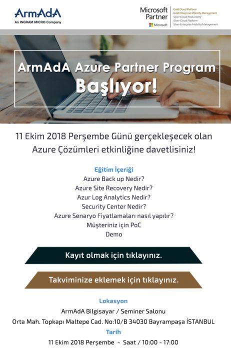 Azure İş Ortağı Akademi İlk Eğitim