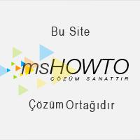 """Türkiye'nin en doğru, dolu dolu ve hatasız anlatımları ile teknik yazılarına, makalelerine, video'larına, seminerlerine, forum sayfasına ve sektörün önde gelenlerine ulaşabileceğiniz teknik topluluğu, MSHOWTO"""""""